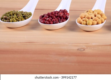 collection of legumes