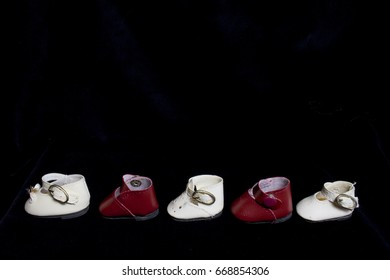 Collection of Little Dolly Shoes