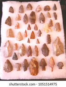 A collection of native American artifacts.