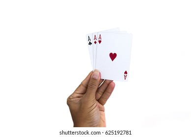 a collection of playing cards background