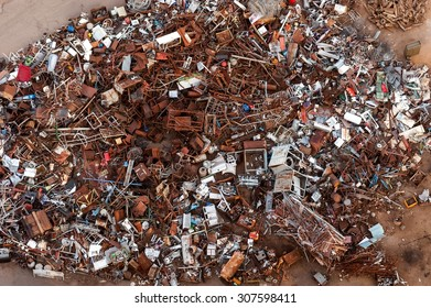 Collection point metals and iron scrap in Susice