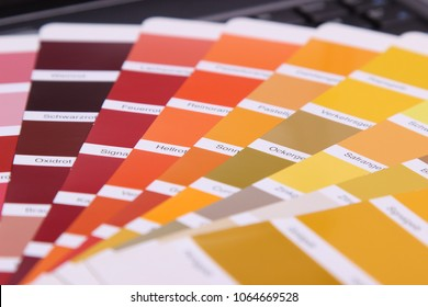 collection of ral colours
