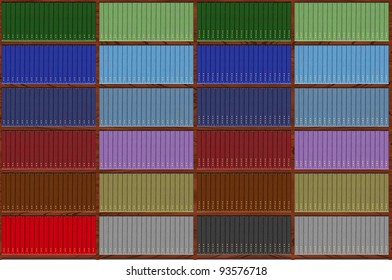 collection of red books- wallpaper, duplicate vertical or horizontal