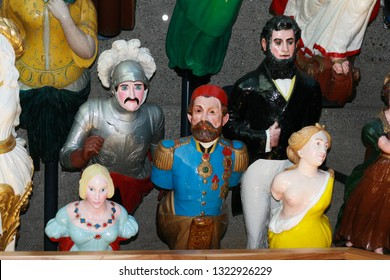 Collection of Ship's Figureheads