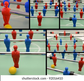 Collection of table football pictures