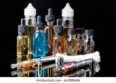 Collection of vape equipment