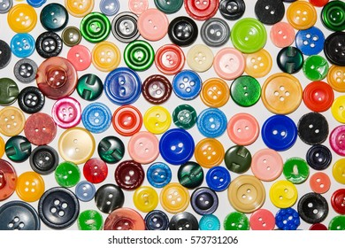 collection of various button of sewing on a