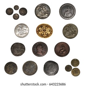 Collection of Very Old Antique Coins