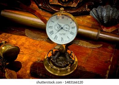 Collection of vintage alarm clocks. - image