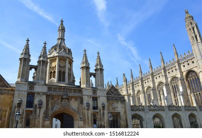 College buildings in Cambridge, United Kingdom