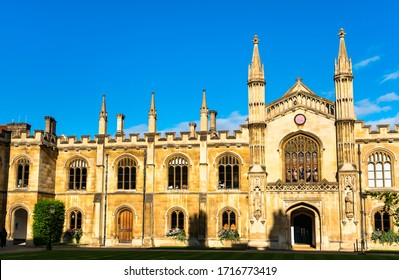 The College of Corpus Christi and the Blessed Virgin Mary in Cambridge, England