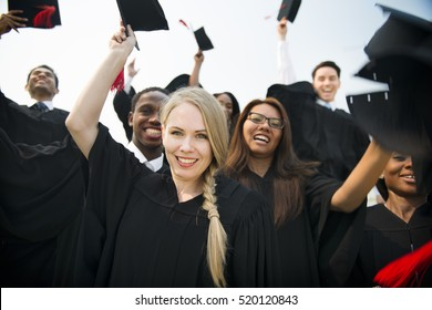 College Degree Education Alumni Friend Concept