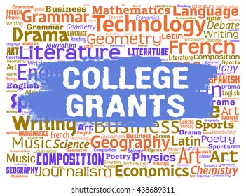 College Grants Showing Training Colleges And Education