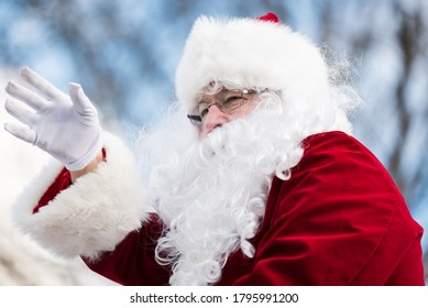 College Grove, Tennessee/USA December 1, 2019: College Grove Christmas Parade