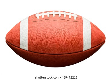 College High School Junior American Football on White