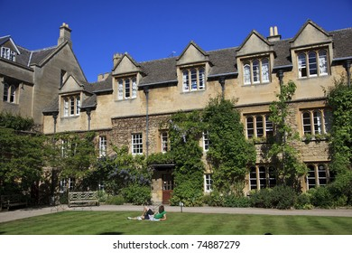 College of Oxford University, Oxford, England