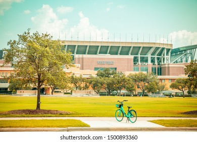College Station, Texas, USA - 01 September 2019: Kyle Field on the campus of Texas A&M University ; home of the Aggies' American football team