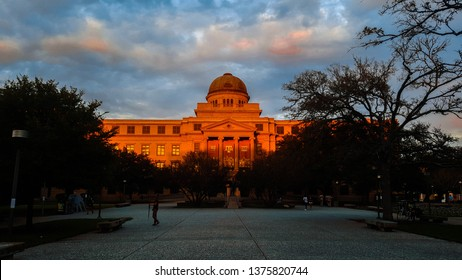 College Station, Texas/USA - 11/11/2016: The most historic place on campus to visit in Aggieland, also the most beautiful.