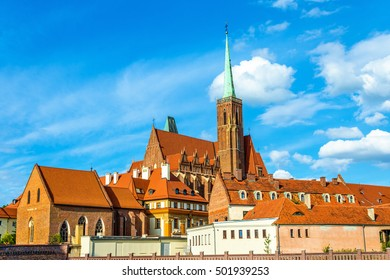Collegiate Church of the Holy Cross and St. Bartholomew - Wroclaw, Poland