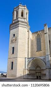 Collegiate Church of Sant Feliu in Girona, Catalonia, Spain