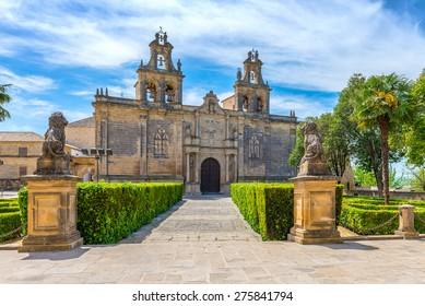Collegiate Church of Santa Maria de los Reales Alcazares, Ubeda, Jaen Province, Andalusia, Spain