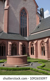 The Collegiate Church of St. Stephan, known in German as St. Stephan zu Mainz, is a Gothic hall collegiate church located in the German city of Mainz. It is known for windows created by Marc Chagall.