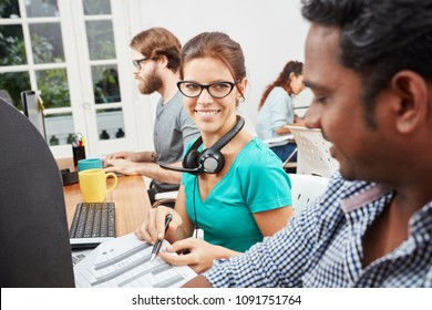 Collegues as service operators in call center
