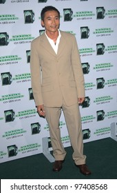 COLLIN CHOU Aka Sing Ngai At The Launch Party In Los Angeles