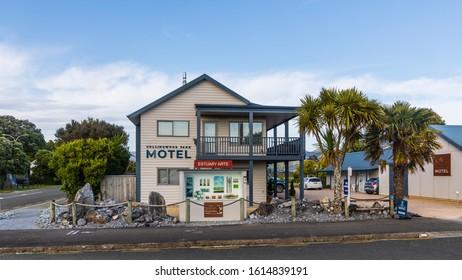 Collingwood, New Zealand - 22 December 2019: Collingwood Park Motel