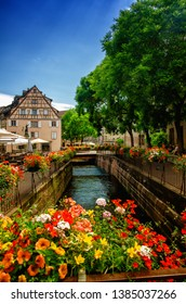 Colmar is a charming town in Alsace, France, a famous tourist destination for its vineyards, traditional houses, canals, floral displays. Colmar has a beautiful and preserved historical centre