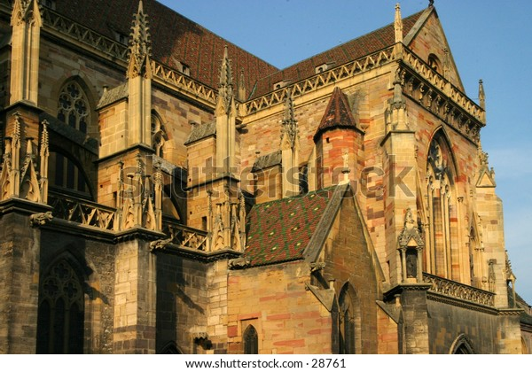 Colmar cothic cathedral