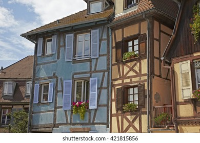 Colmar half-timbered house