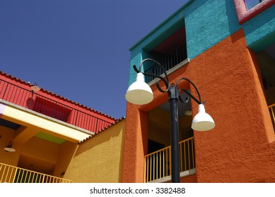 Coloful Tucson Buildings