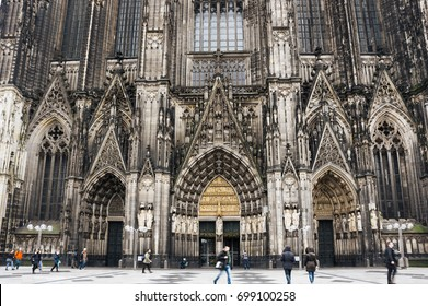 Cologne Cathedral (officially High Cathedral of Saint Peter) is a Roman Catholic cathedral in Cologne, Germany