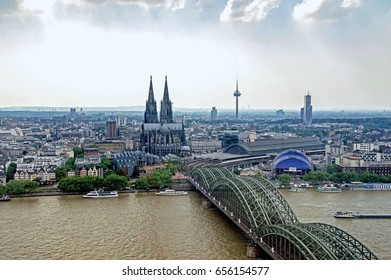 Cologne city from above