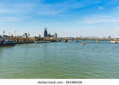 Cologne City Skyline