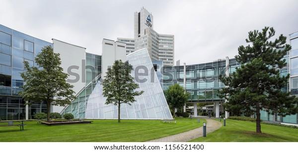 Cologne Germany Building Rundbau Tuv Rhineland Stock Photo