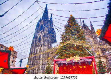 COLOGNE, GERMANY - DEC 17, 2018 - 