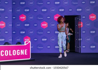 COLOGNE, GERMANY - JUN 28th 2019: Ashleigh Murray (*1988, actress, Riverdale) at CCXP Cologne, a four day fan convention