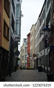 Cologne, Germany - November 4, 2018: Cologne Cityscape, Germany, Europe