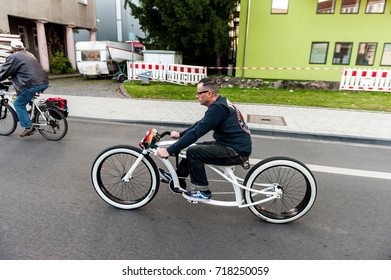 COLOGNE, GERMANY - SEPTEMBER 25, 2015: Cologne Cycling Critical Mass.