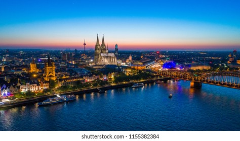 Cologne Germany Skyline