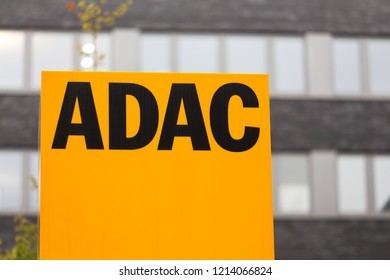 cologne, North Rhine-Westphalia/germany - 24 10 18: adac sign in cologne germany