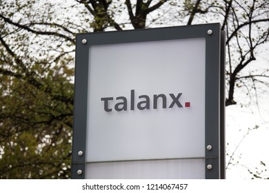 cologne, North Rhine-Westphalia/germany - 24 10 18: talanx sign in cologne germany