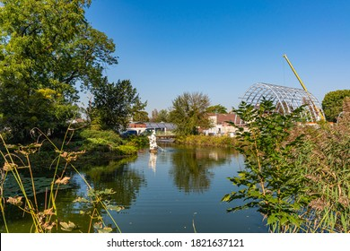 Kölner Parks und Grünflächen im Spätsommer