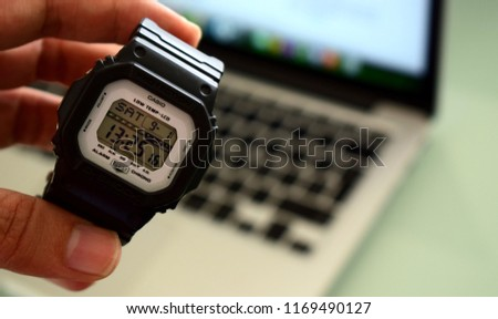 89fe70af269c5 Colombia Septiembre 2018 New Casio G Shock Stock Photo (Edit Now ...
