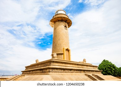 Colombo Lighthouse is a Lighthouse in Colombo, Sri Lanka. Lighthouse is located at Galbokka Point south of the Port of Colombo