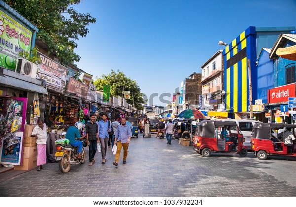 Colombo Sri Lanka Dec 24 2016 Stock Photo (Edit Now) 1037932234
