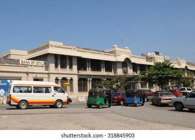 COLOMBO, SRI LANKA - DECEMBER 2, 2008: Colombo is the largest city of Sri Lanka. Urban views.
