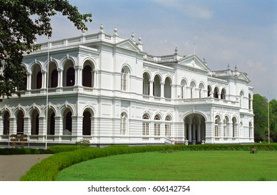 COLOMBO, SRI LANKA - JANUARY 31: National Museum at January 31, 2001 at Colombo, Sri Lanka. The National Museum of Colombo has a rich collection of Asian arts.